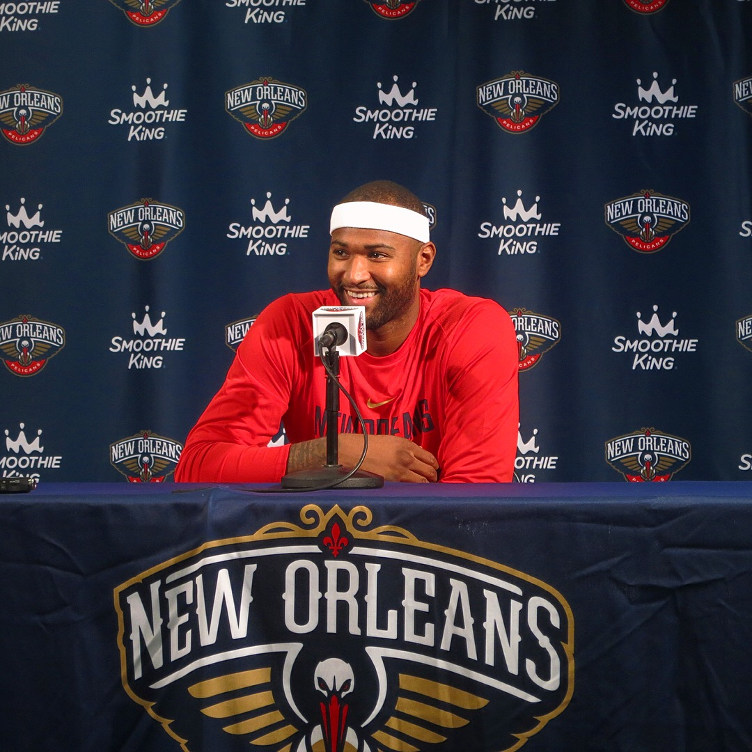 PELICAN PAIR  Anthony Davis And Demarcus Cousins, Who Make Up The Starting  Frontcourt Of The New Orleans Pelicans, Have Been Named Western Conference  ...